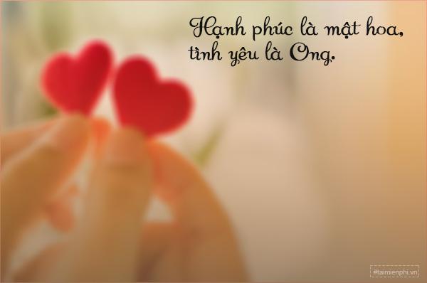 danh ngôn tình yêu