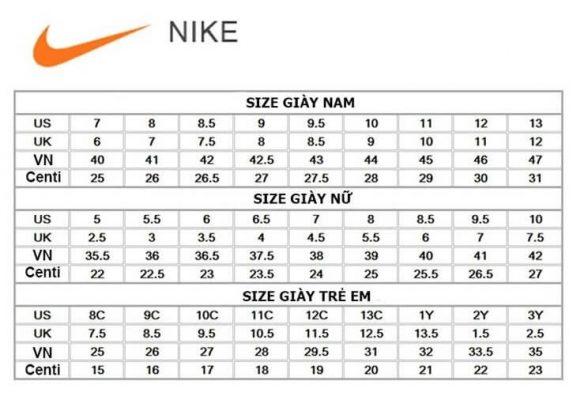 đo size giày