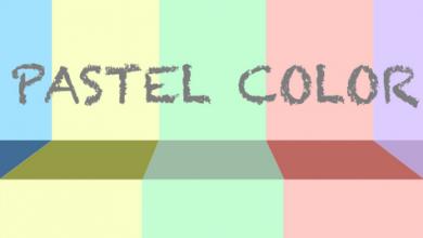 màu pastel