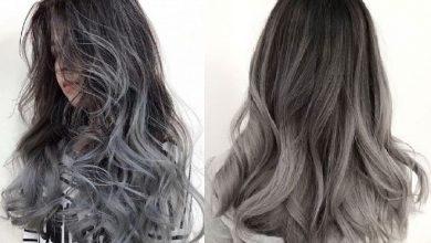 nhuộm tóc màu khói